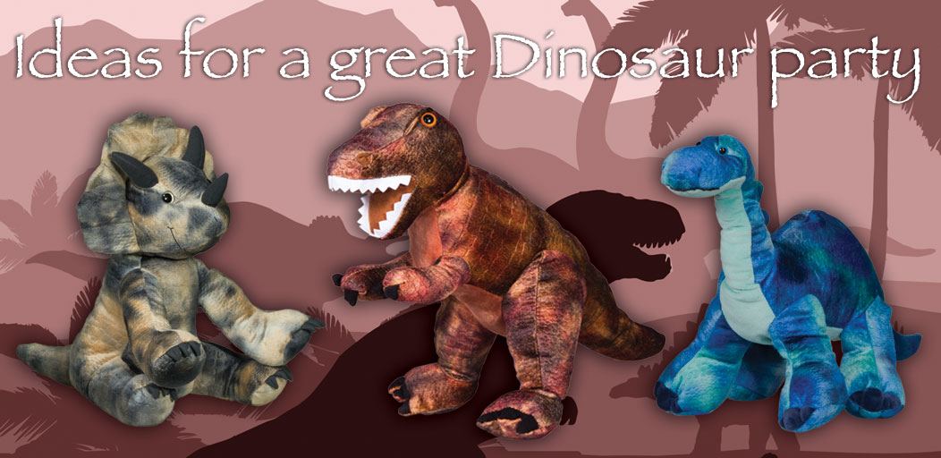 Ideas for a great Dinosaur party
